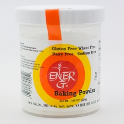 Ener-G® Baking Powder (Aluminium Free) - 7.05oz