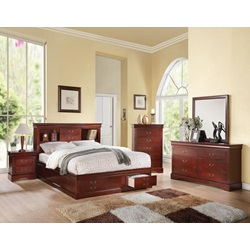 24377EK_KIT LP III CHERRY EK BED W/STORAGE
