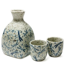 Dragonfly Sake Set