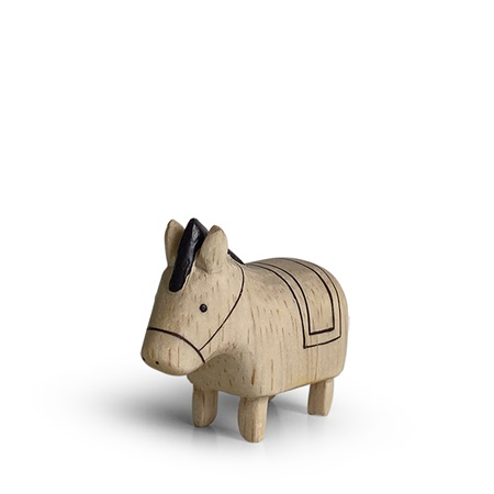 T-Lab Wooden Animal Zodiac Horse