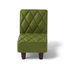 "FIGURINE 2.25"" H GREEN CHAIR"