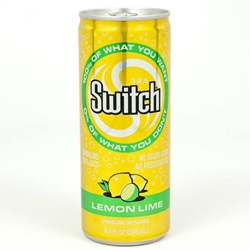 Switch, Lemon-Lime - 8oz (Case of 24)