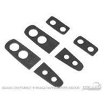 69-70 Rear Window Louver Pads