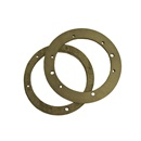 SEALING GASKET SET: STAINLESS STEEL POOL LIGHT NICHE DOUBLE WALL