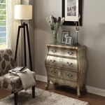 90109 SILVER BOMBAY CHEST