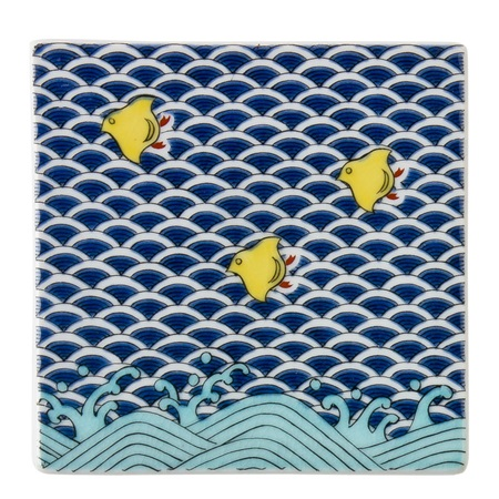 CERAMIC TILE/COASTER - CHIDORI