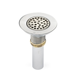 152N: Wide Top Sink Strainer with Brass Nuts