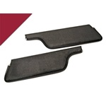 67-68 Sun Visor (Dark Red)