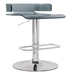 96261 SWIVEL ADJ. STOOL W/GRAY SEAT