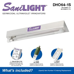 SaniLIGHT DHO64-1S Included Accessories
