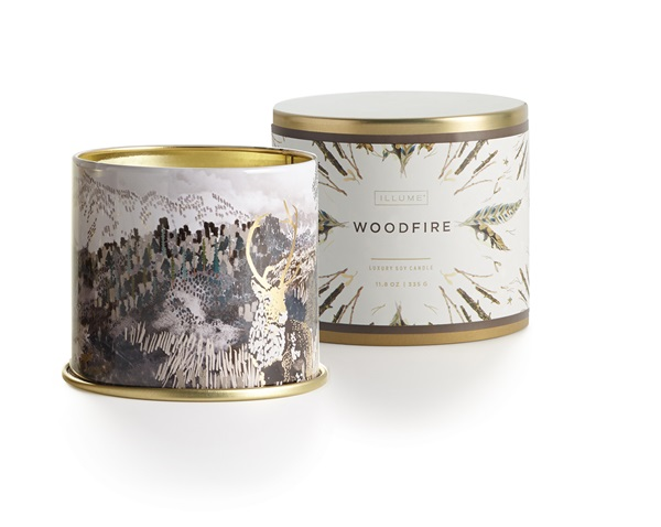 ILLUME - Woodfire Fragrance Collection - Noble Holiday - ILLUME