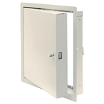 "24"" x 24"" Insulated Fire-Rated Access Door with Flange, Steel, Primed White"