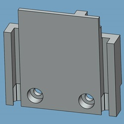 Arc Chamber Mounting Bracket