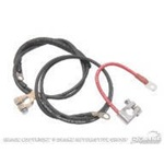 68-69 Concours Battery Cable Set (6 Cylinder)