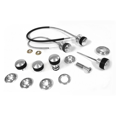 1968-77 Bronco Billet Dash Knob & Bezel Master Kit