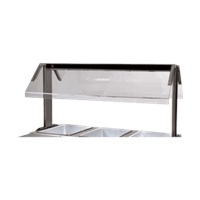 Advance Tabco SU-P-302 Replacement Top Food Shield for Buffet Table Well
