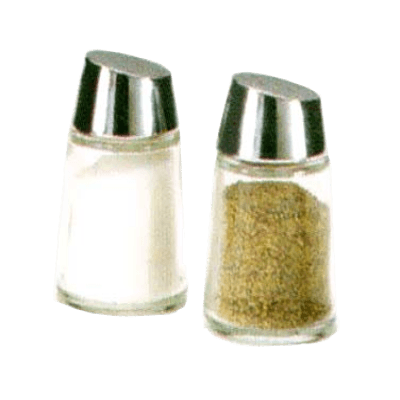 Vollrath 802T Replacement Salt & Pepper Top Chrome