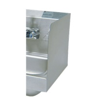 "Advance Tabco 7-PS-11A Welded Side Splash 12"" Tall"