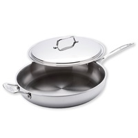 13 Inch Gourmet Chef Skillet  With Cover