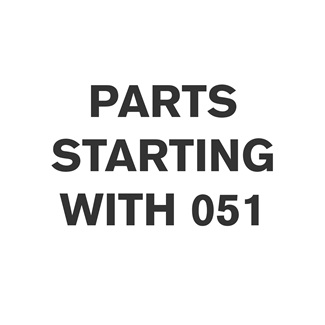Parts Starting With 051