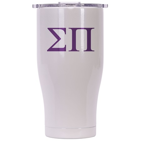 Sigma Pi Pearl/Clear Chaser 27oz