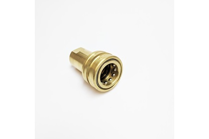 Brass 2-Way Shut Off Sockets