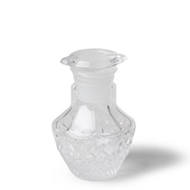 Soy Sauce Pot Clear Glass