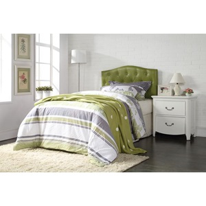 39125Q GREEN QUEEN HEADBOARD