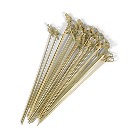 KNOTTED BAMBOO SKEWERS - 6""