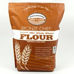 Whole Wheat Flour, Bronze Chief (From Red Berries)