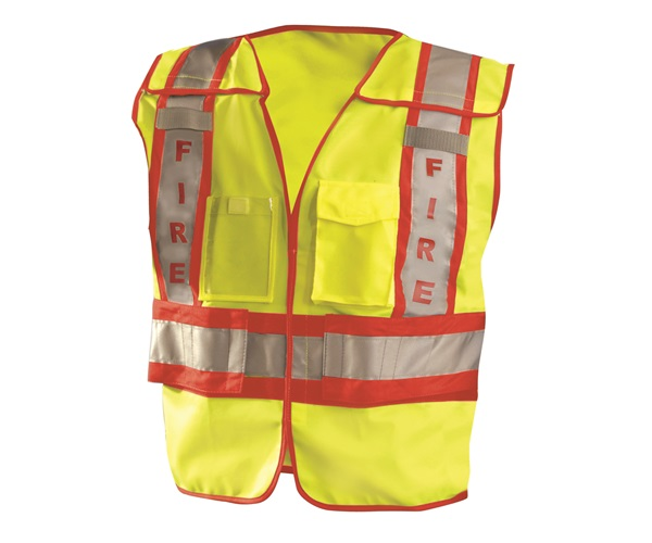 Premium Solid Public Safety Fire Vest