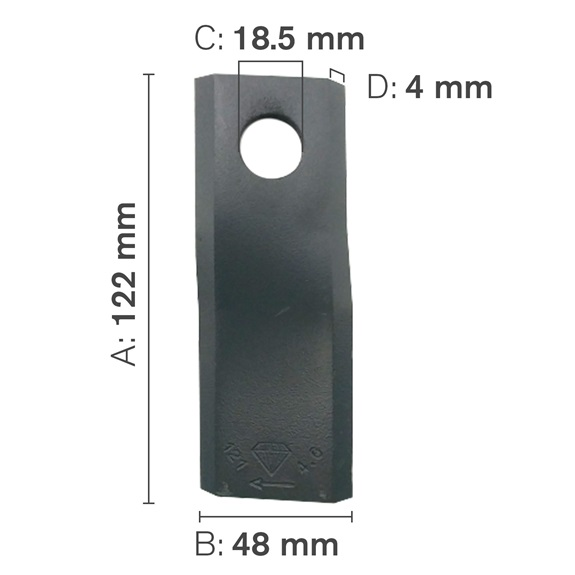 Hay Mower Blades CCW-BOOK