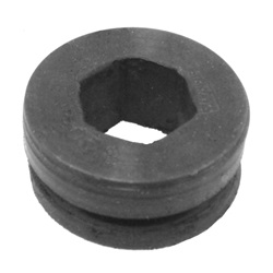 Exhaust support grommet