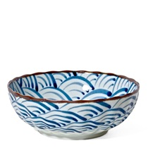 "Seikai Nami Waves 7.25"" Bowl"