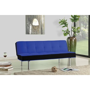 57136 BLUE ADJUSTABLE SOFA