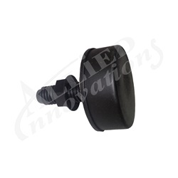 AIR BUTTON: SOFT ACTUATOR, BLACK