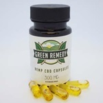 Green Remedy CBD Capsules 10 mg (30 count)