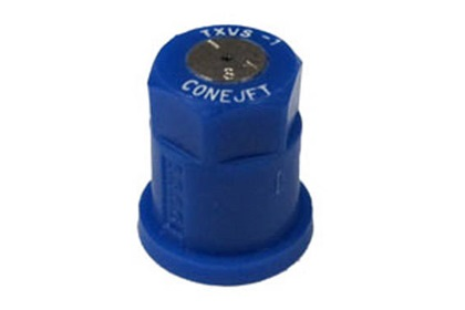 ConeJet TeeJet TX-VS1 - Blue VisiFlo Hollow Cone Stainless Steel Nozzle