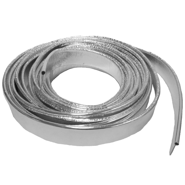 Steele Rubber Products Fender Welting 25ft Chrome