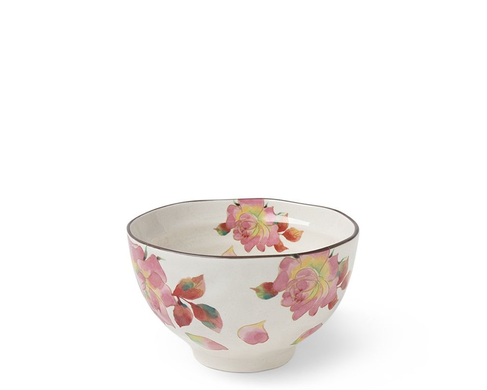Floral Summer Rice Bowl Set