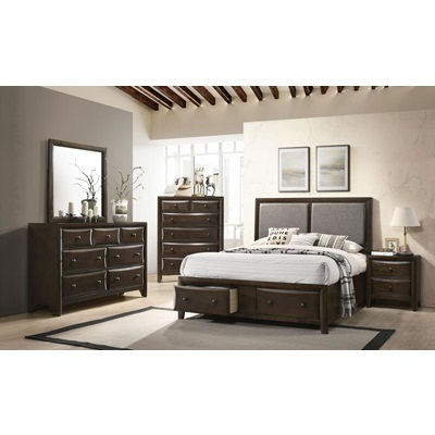 26670Q BRENTA QUEEN BED