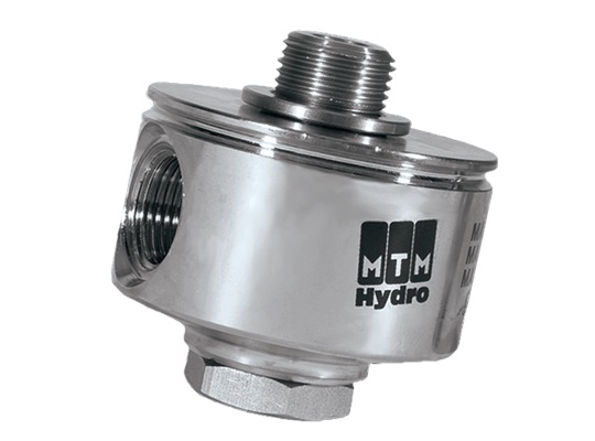 MTM Hydro Replacement 90° Swivel 3/8 Male X 1/4 Female