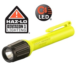 Streamlight 2AAA ProPolymer® HAZ-LO® Intrinsically Safe LED Flashlight - Yellow