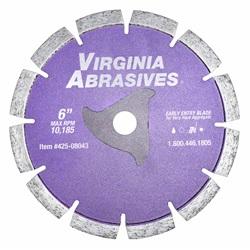 Virginia Abrasives Early Entry Blades For Green Concrete