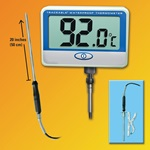 Traceable® Extra-Extra Long-Probe Waterproof Thermometer (Traceable)