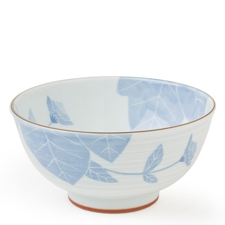 "BLUE FLOWER 6.5"" BOWL"