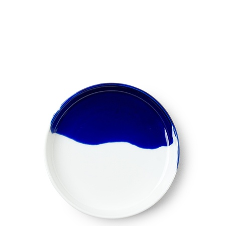"Blue Splash 4.75"" Plate"