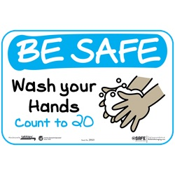 BeSafe Messaging Education Wall Decals