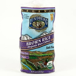 Rice Cakes, No Salt (Organic) - 8.5oz