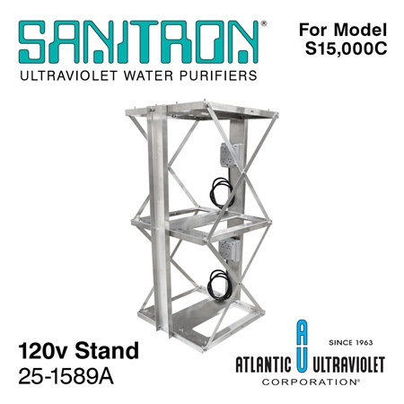 SANITRON Stand for Model S15,000C UV Water System